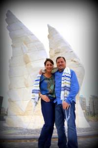 Holocaust Memorial - wings