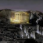 Beit Shean night illumination