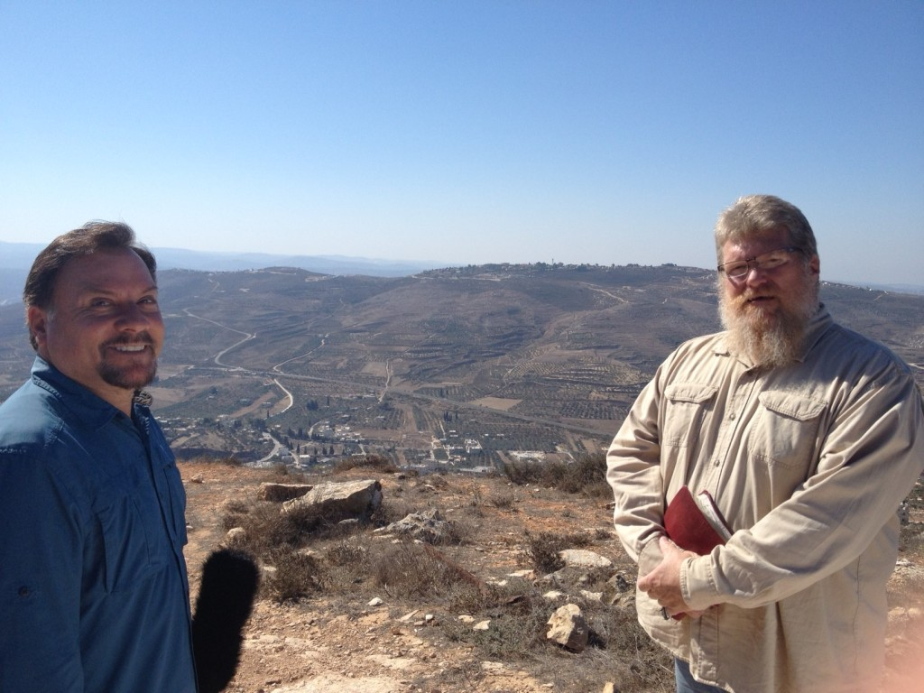In Samaria -- the heartland of Israel