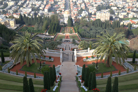The Bahá'í Gardens in Haifa