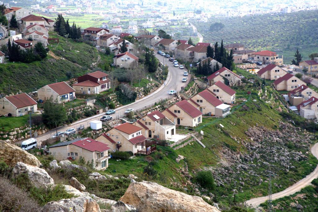 On Mount Ephraim overlooking ancient Shiloh